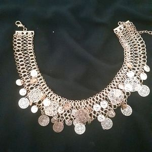 Colette coin necklace